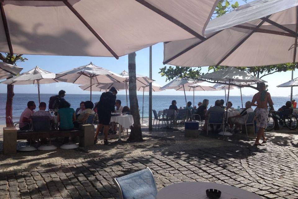 Azul Marinho (Foto divulgação) - Restaurantes com vista